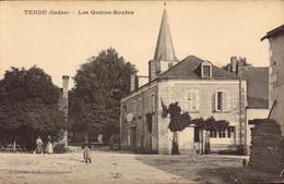 Indre, Tendu, Les Quatre Routes      (bon Etat) - Other