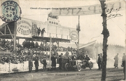 *CIRCUIT D'AUVERGNE. COUPE GORDON BENNETT 1905. N°1 THERY ( RICHARD BRASIER ) FRANCE - Bus & Autocars