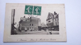Carte Postale ( O3 ) Ancienne De Peronne , Place Du Maarché Aux Poissons - Peronne