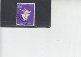 HAITI  1968 - Yvert  614 - Sport - Pattinaggio Artistico - Pattinaggio Artistico