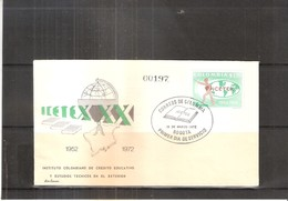 FDC Colombia - ICETEX 1972 (to See) - Colombie