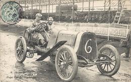 *CIRCUIT D'AUVERGNE. COUPE GORDON BENNETT 1905. N°6 LYTTLE ( POPE TOLEDO ) AMERIQUE - Bus & Autocars