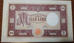 1000 Lire Grande M Testina B.I.18 01 1947 Bel BB Naturale  LOTTO 2415 - [ 2] 1946-… : Repubblica