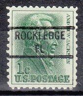 USA Precancel Vorausentwertung Preo, Locals Florida, Rockledge 841 - Vereinigte Staaten