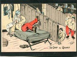 CPA - Illustration Orens - LE COUP DU QUART - Humour