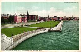 ETATS UNIS - PHILADELPHIA - ESPLANADE FROM WEST BOSTON BRIDGE BOSTON MASS - Etats-Unis
