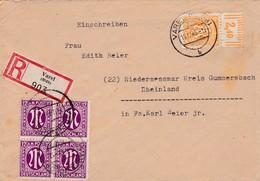 Brief Aus Varel 1945 - Bizone
