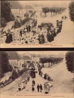 Indre, Clion, Les Dernieres Processions De La Fete Dieu       (bon Etat) - Otros Municipios