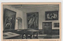 39091656 - Siegen. Museum Des Siegerlandes. Rubens-Gedaechtnisausstellung 1927 Ungelaufen  Leicht Abgerundete Ecke N, L - Siegen