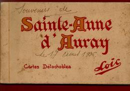 Carnet Complet 10 CP Anciennes 56 Sainte Anne D' Auray - Ed Loïc Laurent Nel - Daté Du 17-08-1936 - Sainte Anne D'Auray