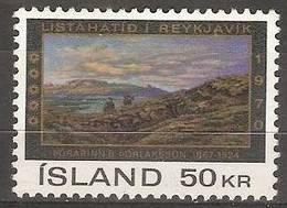 Iceland- 1970 Reykjavik Arts Festival MNH **    SG 477  Wc 424 - 1944-... Republic