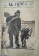 1880 Journal LE REVEIL ILLUSTRÉ - ROUTE DE CHERBOURG Par André GILL - GAMBETTA - Journaux - Quotidiens