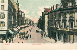 AK Stuttgart, Königstraße, Reliefkarte, Um 1900 (31372) - Stuttgart