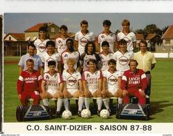 SAINT DIZIER  (   12  ) FOOTBALL - Saint Dizier