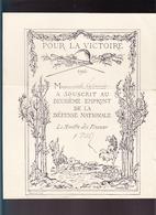 Guerre 14/18 / Collection De 7 Documents Sur Emprunts Défense Nationale / Banque De France / Versement OR - Documents Historiques
