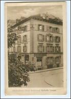 S1934/ Luzern  Alkoholfreies Hotel Restaurant Walhalla AK Ca.1912 Schweiz - Schweiz