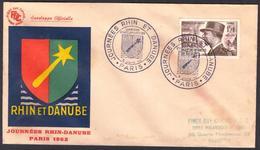{F001} France 1952 Journees Rhin- Danube FDC See Scan !! - 1950-1959