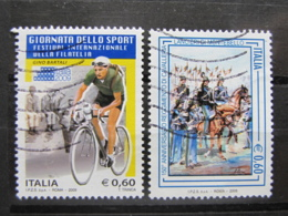 *ITALIA* USATI 2009 - BARTALI LANCIERI MONTEBELLO - SASS 3127 3115 - LEGGI - 6. 1946-.. Repubblica