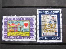 *ITALIA* USATI 2009 - UNIONE SARDA FILATELIA - SASS 3121 3126 - LEGGI - 6. 1946-.. Repubblica