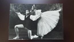Galina Ulanova - Russian Ballet Dancer -  Old Soviet Postcard  - 1965 - Dans
