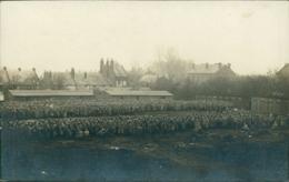 02  CRECY SUR SERRE  / Vue D'un Camp De Prisonniers Militaires Français  1918 / CARTE PHOTO ALLEMANDE - Andere Gemeenten