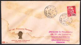{F014} France 1954 Marianne FDC See Scan !! - FDC