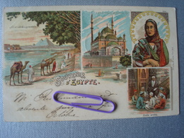 EGYPTE :  Souvenir D'Egypte En 1900 - Autres