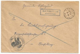 R168 - ROTHAU Bas Rhin - 15 Août 1940 - Dernier Jour Poste Française - Pli Pris En Charge Par La Poste Allemande - - Elsass-Lothringen