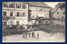 68. Dannemarie. Visite De M. Millerand, Ministre De La Guerre. Fanfare. Ullmann Manufakturwaren. - Dannemarie