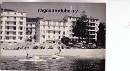 CPA PHOTO - 20 - AJACCIO - HOTEL IMPERIAL Baigneurs Et Pédalos - PHOTO RARE Par TOMASI 6 Cours Grandval, CACHET  SEC - Ajaccio