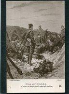 CPA - Illustration Scott - Dans La Tranchée - La Lecture Du Bulletin Des Armées De La République - Guerra 1914-18