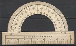 "Germany(?), ""Zentimetermass."", Protractor. - Autres Collections"