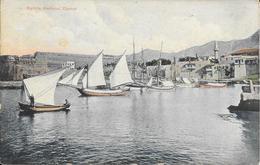 Chypre-Chypres-Cprius - Kyrinia Harbour - N° 155778 - Colorisée - Ed:L.P. Foscolo, Cyprius - Voir 2 Scans - Chypre