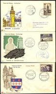 {F027} France 1955 3 FDC See Scan !! - FDC
