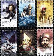"""Guernesey  1577/82 Victor Hugo """" Les Travailleurs De La Mer """" - Ecrivains"""