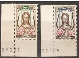 Monaco - 1963 Europa MNH **  SG 772-3 - Monaco