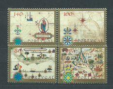 Año 1997 Nº 2192/5 Cartografia Portuguesa - 1910-... República