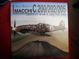 AERO DETAIL 15 MACCHI C.200/203/205   Aviazione Aerei - Trasporti