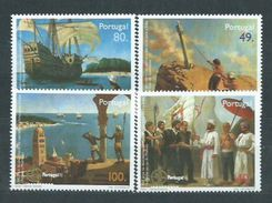 Año 1997 Nº 2202/5 Ani. Descubrimiento Ruta A Las Indias Vasco De Gama - 1910-... República