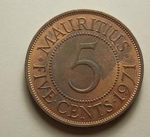 Mauritius 5 Cents 1971 - Maurice