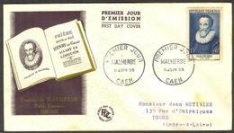{F036} France 1955 Malherbe FDC See Scan !! - FDC