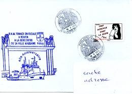 RHM TENACE Escale à Rouen Obl. Rouen Jeanne D'Arc 18/05/12 - Poste Navale