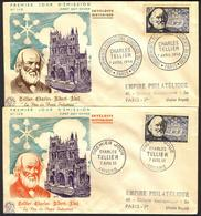 {F039} France 1956 C. Tellier FDC See Scan !! - FDC