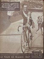 Revue Miroir Sprint N°61 (22 Juil 1947) Tour De France - Victoire De Robic - Boeken, Tijdschriften, Stripverhalen