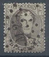 N°14 , 10c Brun Lpts Ambulant M2 (Midi 2) - 1863-1864 Medaglioni (13/16)