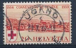 "HELVETIA - Mi Nr 357 - Cachet  ""LUGANO 1"" - (ref. 994) - Schweiz"