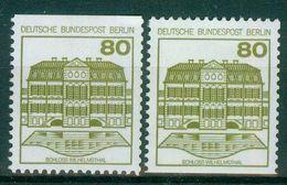 Berlin 1982 / MiNr.   674 C Und D  ** / MNH   (r981) - [5] Berlijn