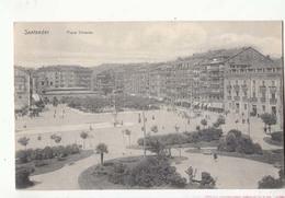 CPA Espagne - Santander - Plza Velarde : Achat Immédiat - Cantabria (Santander)