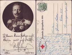GERMANY - RED CROSS Office Post Stationary - DEUTSCHE KRIEGSKARTE  1914 - KAISERS  - KOBLENZ  - 1914 - 1914-18
