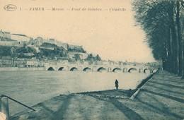 CPA - Belgique - Namur - Meuse - Pont De Jambe - Citadelle - Namen